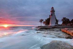 Sunrise on Lake Erie