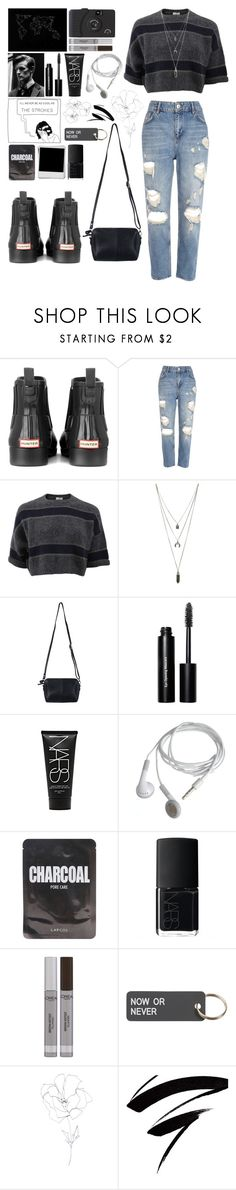 """""""Untitled #532"""" by diamonds610 ❤ liked on Polyvore featuring Hunter, River Island, Brunello Cucinelli, Forever 21, Pieces, Bobbi Brown Cosmetics, NARS Cosmetics, Lapcos, L'Oréal Paris and Various Projects"""