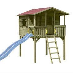 Stelzenhaus Spielhaus Tom mit Terrasse