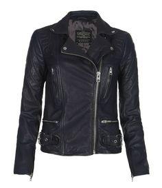 Chase Biker Jacket, Women, Leather, AllSaints Spitalfields