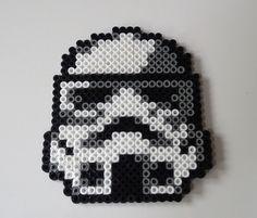 #StarWars #StormTrooper  Untersetzer aus Bügelperlen