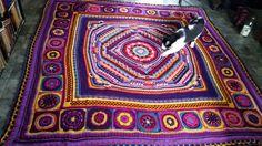 https://flic.kr/p/Ecqujo   My crochet   Crochet by Aislin Sophie's Universe Cal with circles of the sun