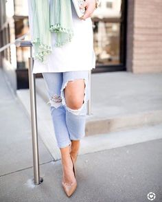 I've styled these light and airy springtime layers