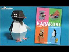 Mechanical Paper Animals by Haruki Nakamura - YouTube