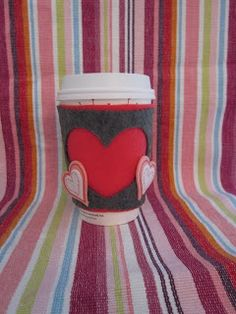Absolute Mommy: Get Yo Craft On! Vday Cup Holder
