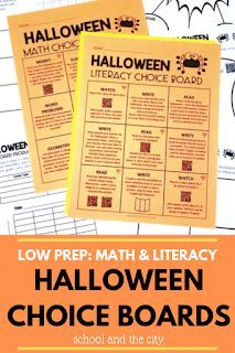 3 ideas for celebrating Halloween in your upper-elementary classroom: activities for 3rd graders on Halloween! Halloween Math, Halloween Activities, Holiday Activities, Classroom Activities, Classroom Ideas, Weird Holidays, School Holidays, Teaching Second Grade, Third Grade
