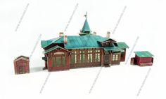 Buy Kuzhenkino railway station in online store RuBrand.com with worldwide delivery