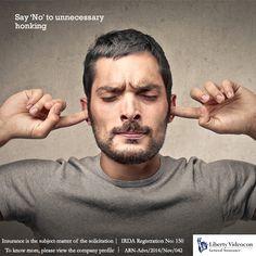 Health damage begins at 75 db, hearing damage at 90 db and permanent loss of hearing at 120 db. Say 'No' to unnecessary honking.