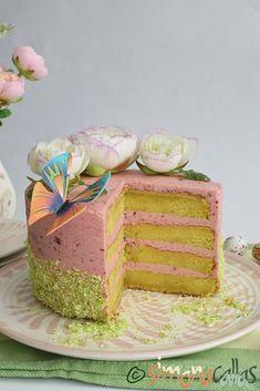 Tort cu lamaie si zmeura Carrot Cake, Vanilla Cake, Carrots, Gem, Food And Drink, Sweets, Desserts, Baking, Romanian Recipes