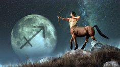 """Sagitario : el """"Aventurero"""" Numeración zodiacal: Noveno Elemento: Fuego Modalidad: Mutable Género: Masculino Simboliza: La novena casa de la carta natal. Planeta"""