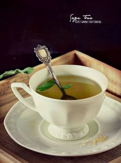 Sage tea and its health benefits @SECooking | Sandra