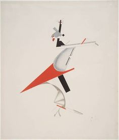 El Lissitzky, The troublemaker (1923)