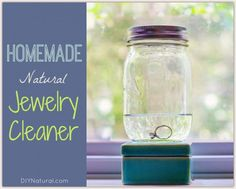 We use homemade jewelry cleaner because commercial cleaners are expensive and full of chemicals. Trial and error has proven this solution to be most effective!