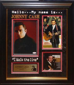 Antiquities LV - Johnny Cash Signed Photo, $1,695.00…