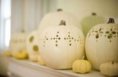 Friday Favourites – Decorating with White Pumpkins