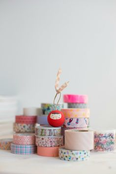 """Washi tape love in""""I ❤ Stamping"""" My New Book!"""