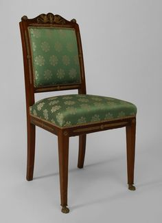 French Empire seating chair/set mahogany
