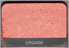 The bush I put everyday in my checks :D  Orgasm Blush - NARS.