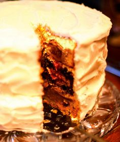 Cherpumple! My photo of a Cherpumple from Thanksgiving--made it into Travel & Leisure on-line!