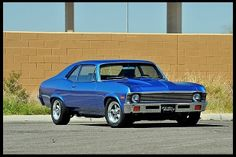 1-1972 Chevy Nova 350