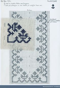 @nika Cross Stitch Borders, Cross Stitch Patterns, Knitting Patterns, Filet Crochet, Diy And Crafts, Arts And Crafts, Thread Art, Christmas Cross, Needlepoint