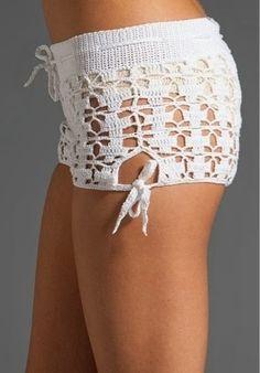grafico de shorts de croche - Pesquisa Google