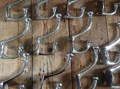 Extra large nickel hooks from our store