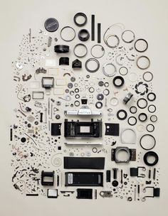 Pentax K1000 disassembled