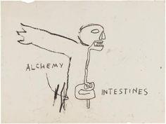ALCHEMY By Jean Michel Basquiat 1985