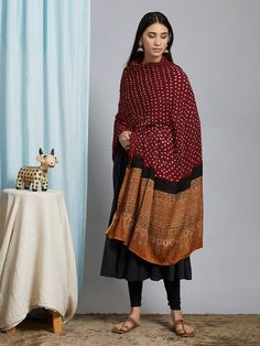 The Loom- An online Shop for Exclusive Handcrafted products comprising of Apparel, Sarees, Jewelry, Footwears & Home decor. Churidar Designs, Old Rose, Silk Dupatta, Indian Outfits, Simple Dresses, Woman Clothing, Clothes For Women, Printed, Womens Fashion