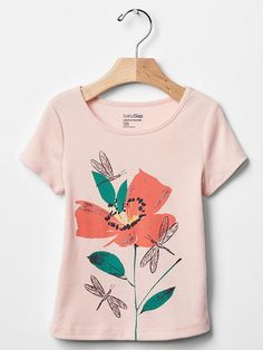 Embellished spring graphic tee | Gap