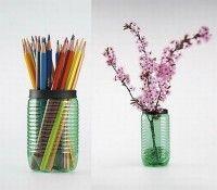 obiecte din pet-uri reciclate