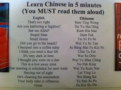 i learned how to speak chinese in five minutes! hollahh.