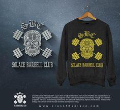 Weightlifting Barbell Club Logo by PakWee™