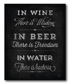 Look what I found on #zulily! 'In Wine There Is Wisdom' Canvas #zulilyfinds