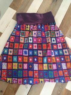 Skirt Crochet Print