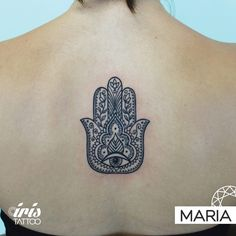 iristattooartHamsa for Danielle ✨ Tattoo by María @mariaacevedo_art #iristattoo #iristattoomiami  Book your appointment with Maria by emailing to wynwood@iristattoomia.com or visit us 48 NW 25 St Wynwood Miami