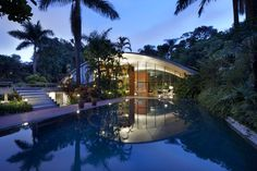 Milan residence in Sao Paulo,. Brazil, by Marcos Acayaba #architetcture #house #contemporary