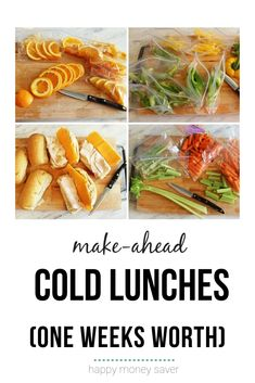 Awesome kids lunch ideas for helping save time. Make all your lunches in one day for the week and have your kids grab th. Chicken Freezer Meals, Freezer Friendly Meals, Healthy Freezer Meals, Make Ahead Meals, Frugal Meals, Easy School Lunches, Easy Weekday Meals, Cold Lunches, Healthy Gluten Free Recipes