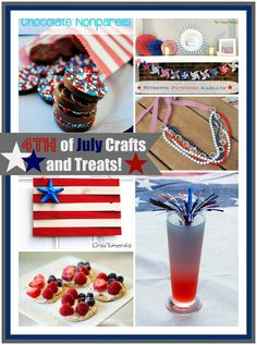 4th of July Crafts and Ideas #4thofjuly #4threcipes #4thcrafts