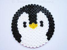 2 Dessous de verre Pingouin sous-verre animal par DoucesCreations