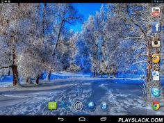Nice Winter  Android App - playslack.com , Nice winter - pleasing winter sceneries on the screen of your smartphone or tablet PC. creaseless motion graphics completes live wallpapers and easy-to-use settings allow to change the app easily.