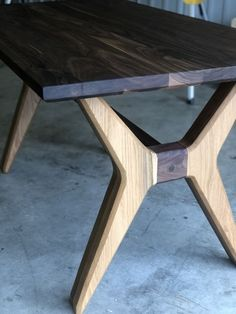 Wood Slab Dining Table, Oak Dining Room, Plank Table, Walnut Table, Table Legs, Dining Set, Table And Chairs, Unique Furniture, Custom Furniture