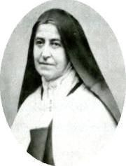 St. Therese's older sister and surrogate mother, Pauline, who became Mother Agnes of Jesus as a Carmelite.