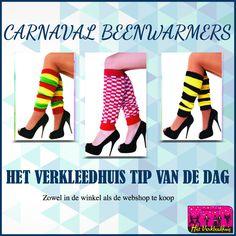Het Verkleedhuis TIP van de dag! Heerlijke warme beenwarmers voor de carnaval.  *  En dan zijn we ook nog de hele dag open van 10.00 - 21.00 uur vandaag. En morgen ook nog!  *  Bestellen kan ook in de webshop: https://scattando.myshopify.com/collections/het-verkleedhuis/beenwarmers   *  #verkleedhuis #beenwarmers #carnaval #tipvandedag #tip #brabant