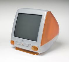 """""""iMac"""" Computer Designed by Jonathan Ive, British, born 1967, and Apple Industrial Design Team, Cupertino, California. Made by Apple Computer Inc., Cupertino, California, 1976 - present."""