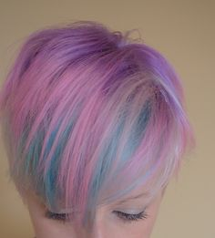 pastel candy hair