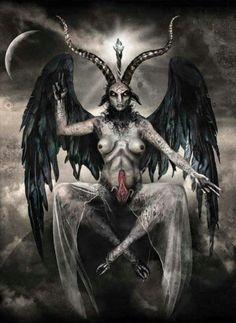 Satanic Tattoos, Satanic Art, Arte Horror, Horror Art, Magick, Witchcraft, Vampires, Dark Fantasy, Fantasy Art