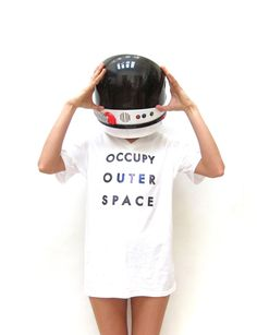 OCCUPY OUTER SPACE Tee Shirt. Unisex.. $25.00, via Etsy.