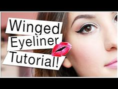 My Quick and Easy Winged Eyeliner Tutorial! ♡